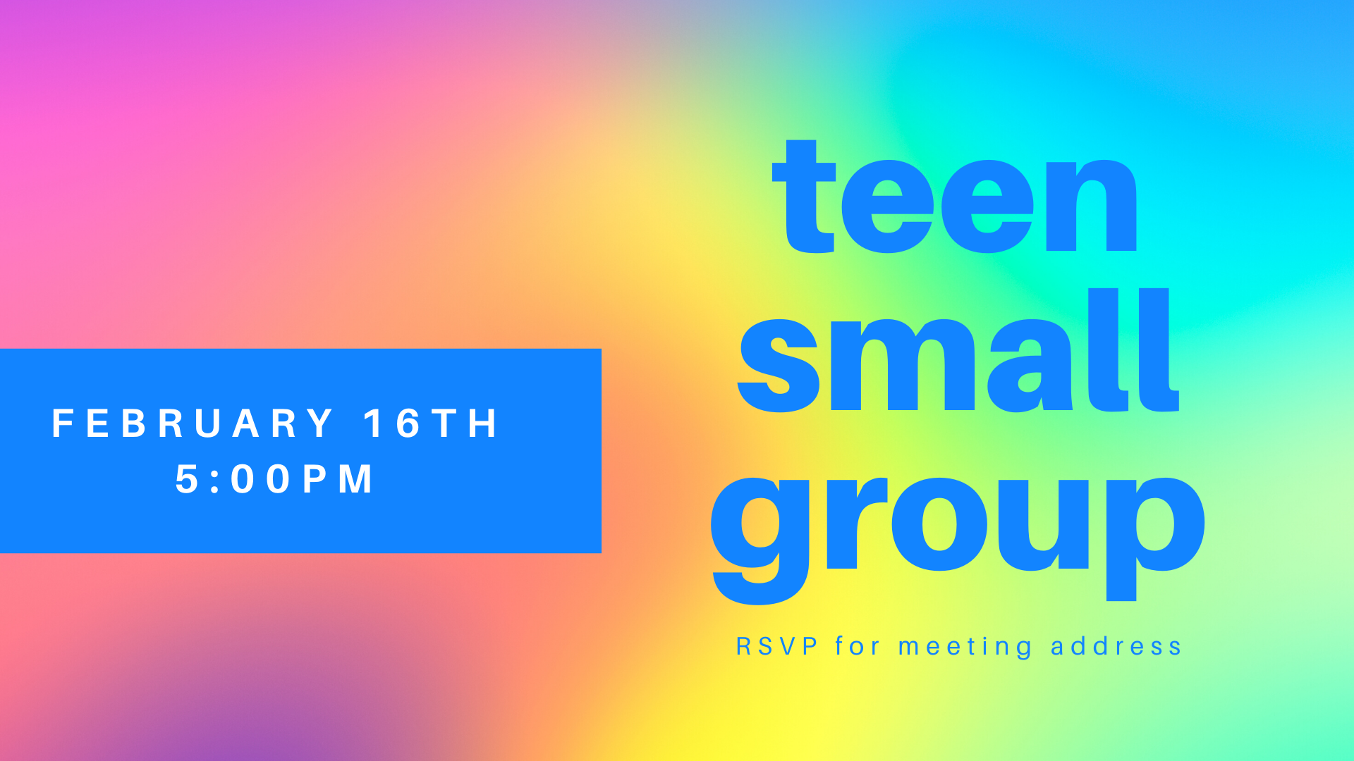Teen Small Group